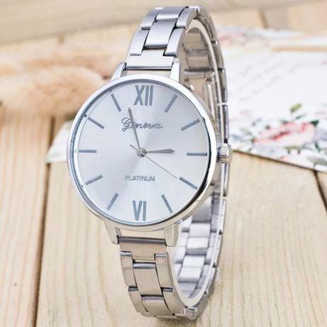 Часы мужские женские унисекс серебрянные кварцевые подарок