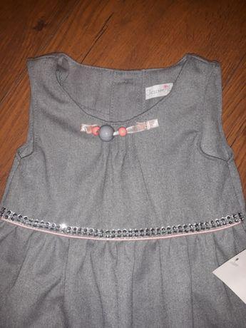 Śliczna sukieneczka r.80 NOWA