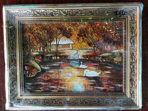Картина из янтаря, Картина із бурштину