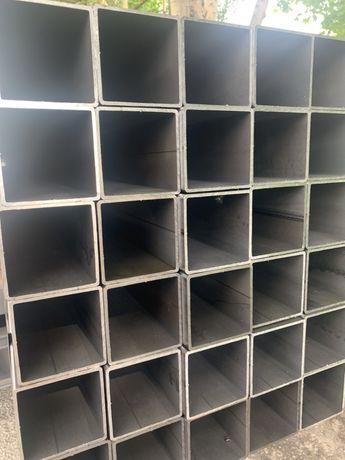 Profil stalowy czarny 100x100x3 słupy konstrukcje stalowe !