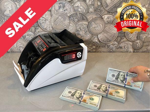 Счетная машинка с детектором валюты , счетчик банкнот , денег, купюр.