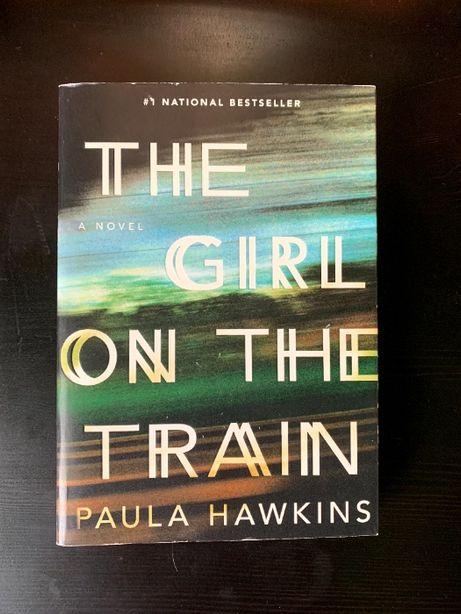 The Girl on the train - Paula Hawkins - książka angielska