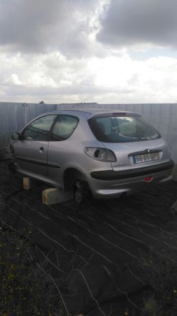 Peugeot 206 1.9d e peças. Ler descrição.