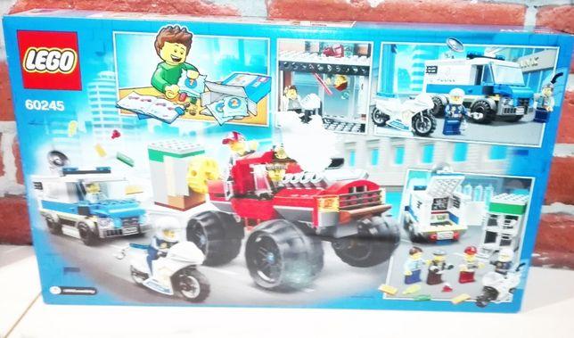 Lego 60245 City Napad z monster truckiem