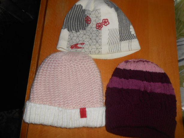 шапка осень-зима на девочку