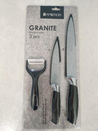Ambition granite komplet zestaw noży - nóż obierak