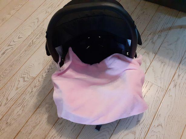 Kocyk otulacz do wózka,  nosidełka