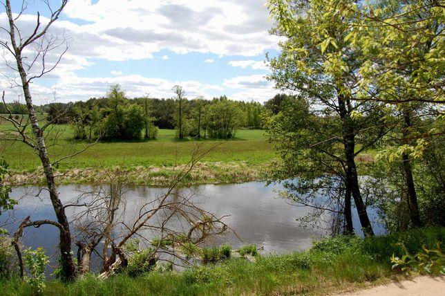Sprzedam działki rekreacyjne nad rzeką Wkrą od 1767 m2 do 5909 m2