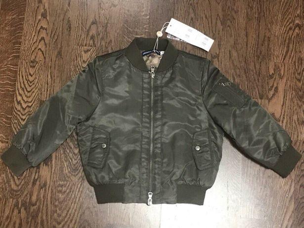 Демисезонная куртка бомбер Original Marines для мальчика 2г (92см)