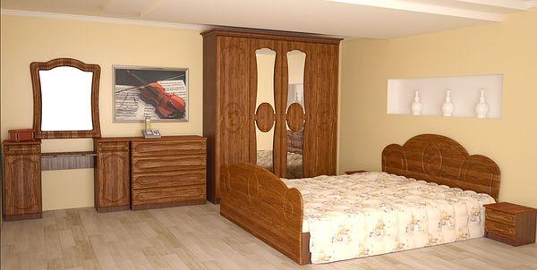 Спальня Глория не лакированная