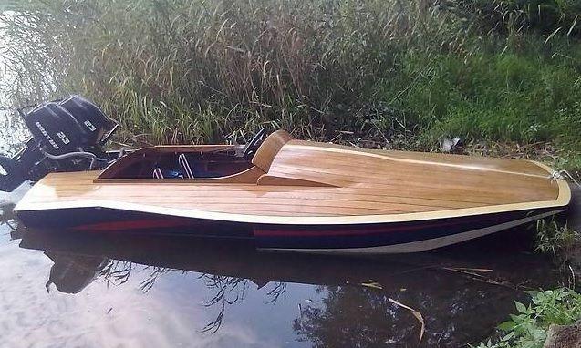 катер/лодка ручной работы