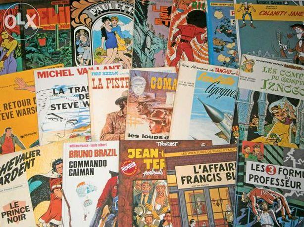 BD franco-belga (vários livros, em francês)