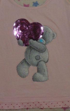 Майка с мишкой Тедди топ рS-M Teddy Bear