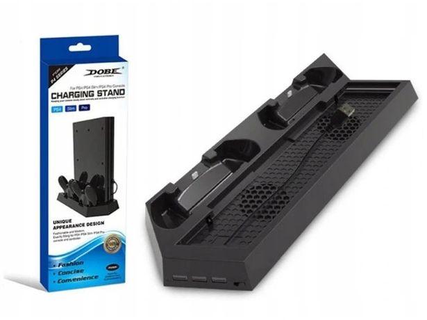 Ładowarka padów podstawka chłodząca PS4 Slim Pro *Video-Play Wejherowo
