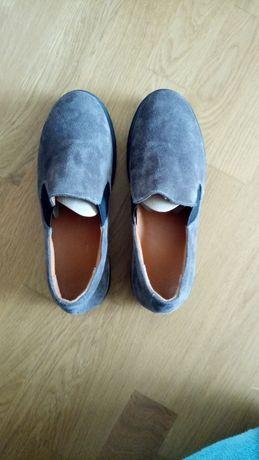 Туфли замшевые ортопедические