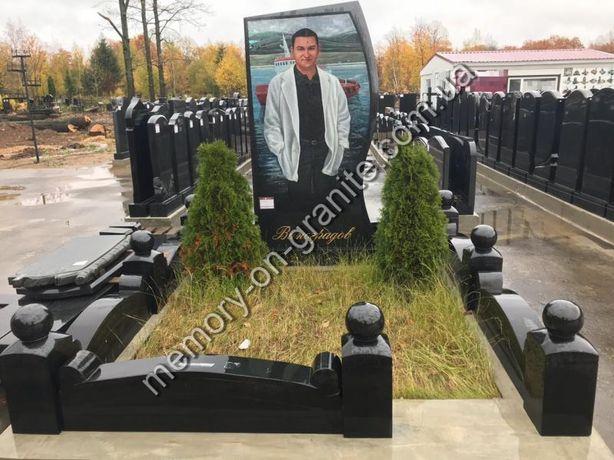 Памятники из гранита от 2500 памятник,благоустройство мест захоронений