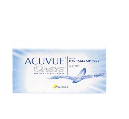 Acuvue oasys with hydraclear plus 2szt. i trueye -2.75 -3.00 D  GRATIS