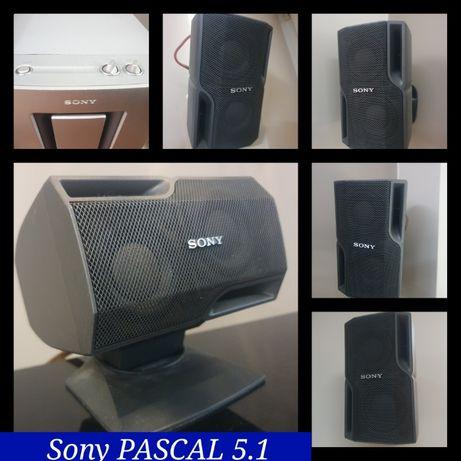 Super komplet Sony Pascal 5+1 głośniki kino domowe