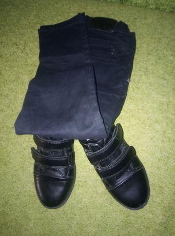Комплект штани і туфлі для хлопця зріст 122-128