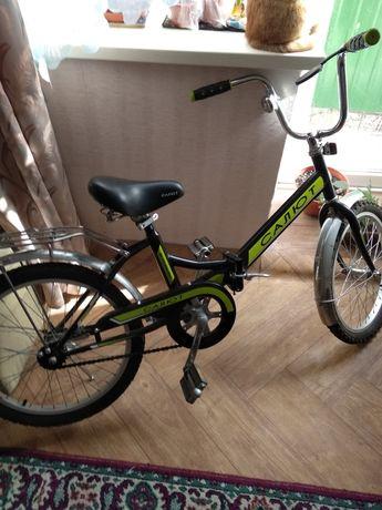 Новый складной велосипед.