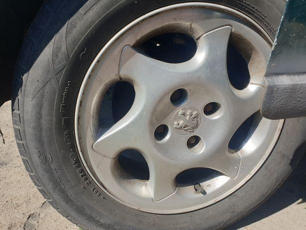 Felgi aluminiowe 15 4x108 citroen c2 c3 c4 berlingo Peugeot