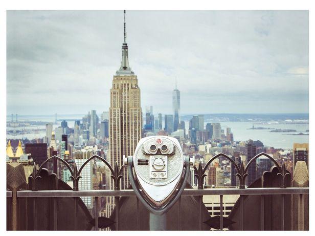 Obraz na płótnie IKEA 140 x 100 cm Nowy York Manhattan Nowość