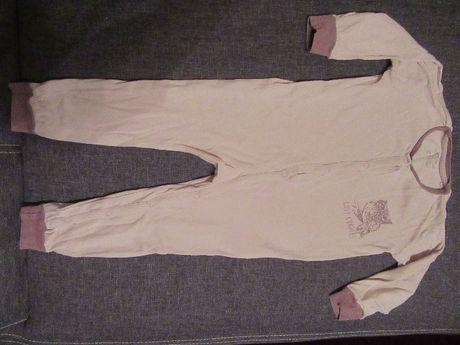 Pajac dla dziewczynki Lupilu pure collection bawełna rozmiar 92