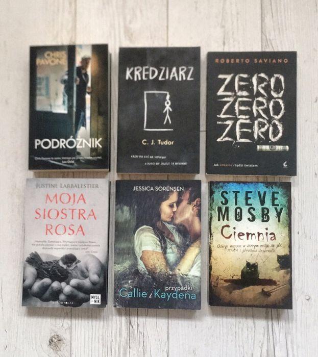 """Książki """"Kredziarz"""" """"Ciemnia"""" """"Moja siostra Rosa"""" """"Podróżnik"""" Świnoujście - image 1"""