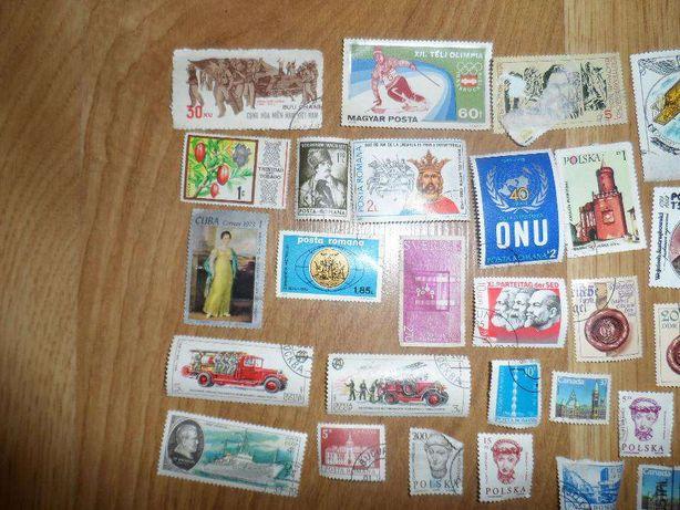stare znaczki pocztowe