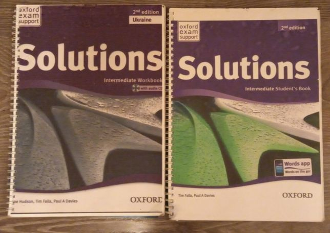 Solutions elementary, intermediate