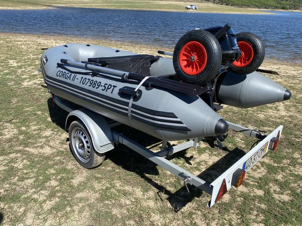 Barco Pneumatico/Motor/Atrelado