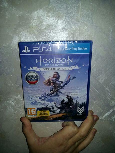 Horizon Zero Dawn. Complete Edition. Новый запечатанный диск!