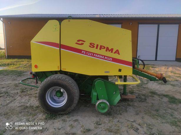Prasa zwijająca Sipma PS 1221 Farma Plus