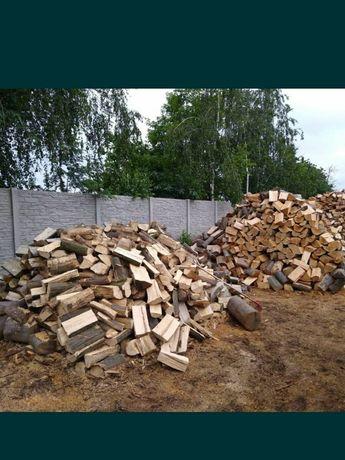 Drewno Drzewo opałowe kominkowe Dąb, Sosna, Brzoza, Grab