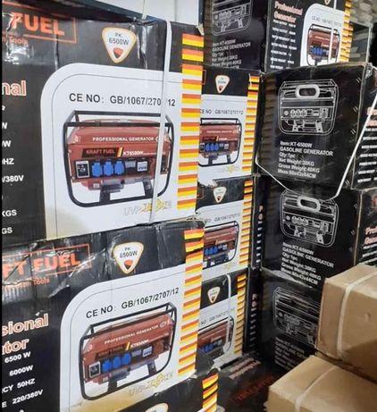 Gerador a Gasolina 6500w novos em caixa entrega imediata zona Porto