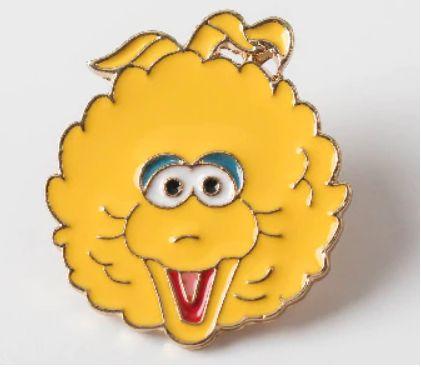 PIN WPINKA przypinka znaczek ulica sezamkowa Elmo Grover Wielki Ptak