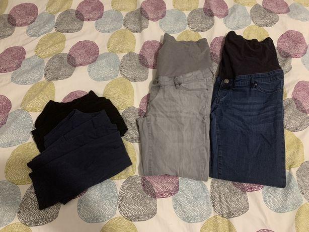 Spodnie leginsy ciążowe Esmara 42 L