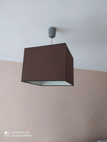 Lampa brązowa kwadratowa 30 x30