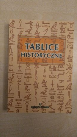 Tablice historyczne. Wydawnictwo Adamantan. Do liceum