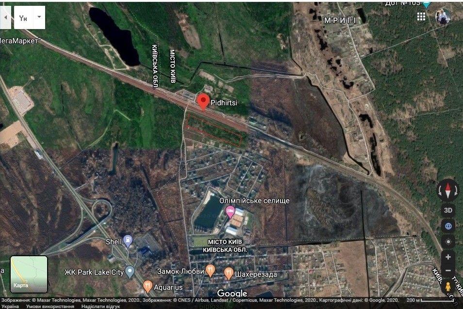 Продаж земельної ділянки Новообухівська траса Ходосовка - изображение 1