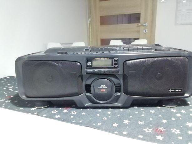 Radiomagnetofon hitachi CX_W700E z CD boombox