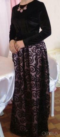 Платье вечернее, в пол, нарядное