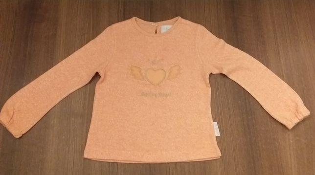 Pomarańczowa bluzka r. 104