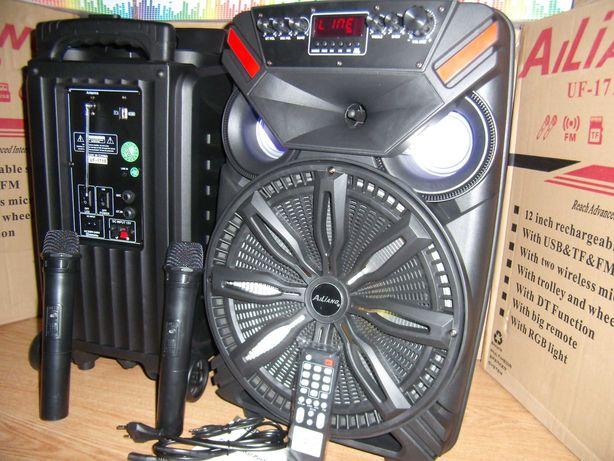 Профессиональная акустика Караоке KOLAV12 USB/FM/Bluetooth/Пульт ДУ