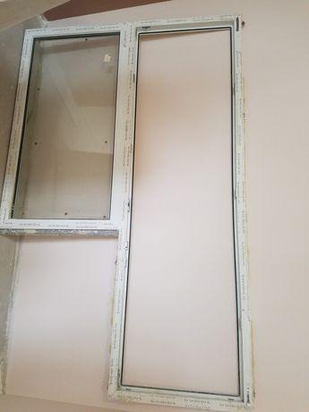 Балконна рама, вікно з дверима