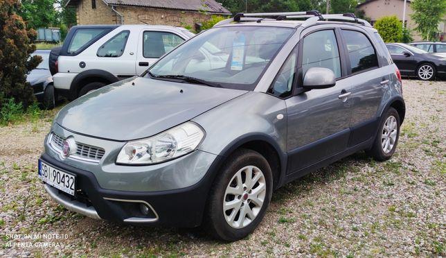 Fiat Sedici 1,6 + gaz, 4x4