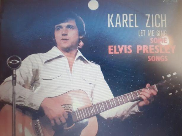 Karel  Zich  - Let me sing some Elvis Presley.