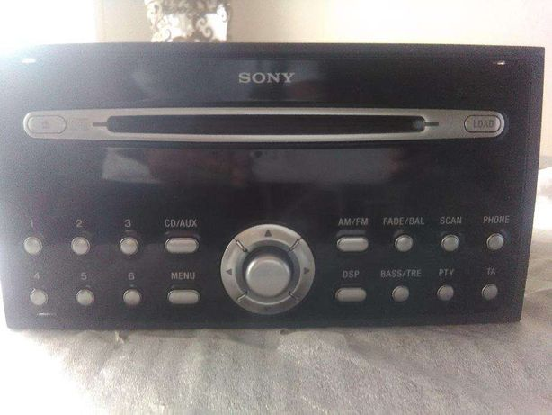 Auto Radio Sony com avaria cds