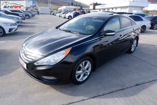 Hyundai Sonata Se 2012 Black 2.4L