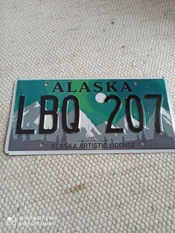 Tablica rejestracyjna USA Alaska najnowszy wzór.